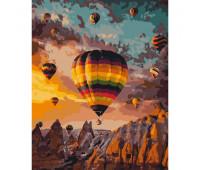 """Набор для росписи """"Воздушные шары Каппадокии"""" 40*50 см *"""