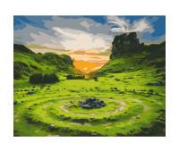 """Набор для росписи """"Долина Фей. Шотландия"""" 40*50 см *"""