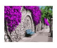 """Набор для росписи """"Бугенвиллия в Афинах"""" 40*50 см *"""