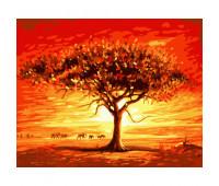 """Набор для росписи """"Золотое солнце Африки"""" 40*50 см *"""