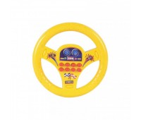 """Руль """"Маленький водитель"""" со светом, озвучен на укр языке, в кульке UKA-A0091-2 р.25*26*3,5см *"""