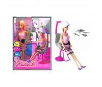 Лялька в перукарському кріслі (коробка) 68081 р.23*6*32,8см. *