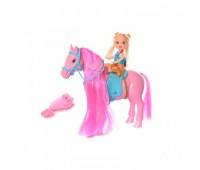 Кукла с лошадкой в кульке 686-606 *