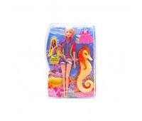 Лялька з морським коником (на шарнірах, коробка) 68077 р.20*6*31 см