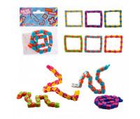Антистресс AN1484 (480 шт)микс цветов, в пакете, р-р игрушки - 28*1*1 см *