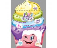 """Вязкая масса """"Fluffy Slime"""" пакет 500 г укр (12) 6 цв"""