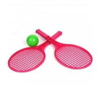 Ракетка тенисна мал.(2 рак.+мяч) (40)