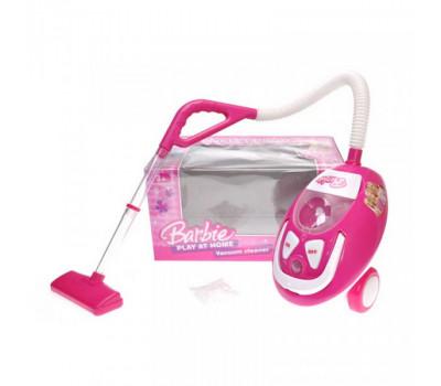 """Пылесос """"Barbie"""" озвучен со светом, в коробке, QF26133BA р.37,5*22,5*21см. *"""