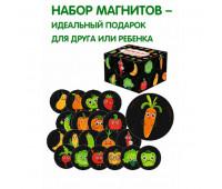 """Набор магнитов """"Веселые фрукти и овощи"""" ML4031-52 EN *"""