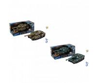 Танк инерц KLX700-3A/KLX700-4A (48шт) 2 вида микс, свет, звук, в кор 28*14*12 см, р-р игрушки – 18*8