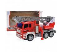 Пожежна машина інерційна, в коробці KB-10-5A р.27,8*12,2*15,6см *