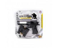 Поліцейський набір з пістолетом і біноклем, на блістері HY074 р.25*25,5см *