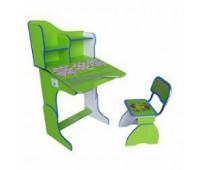 RUS Парта + стул GREEN