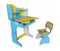 RUS Парта + стул BLUE-YELLOW
