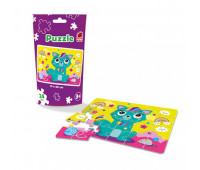 Puzzle in stand-up pouch