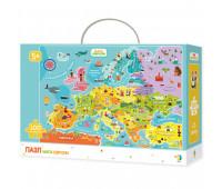 DODO Пазл Карта Европы 100 элементов