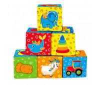 Набор кубиков Мой маленький мир МС 090601-01 *
