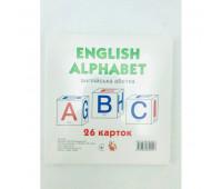 Картки великіі Англ. алфавіт 26 карток (у) *
