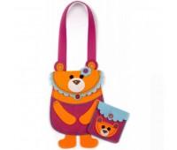 Набір викрійок для пошиття дитячої сумочки та гаманця