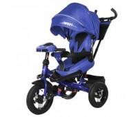 Велосипед трехколесный TILLY Impulse с пультом и усиленной рамой T-386 Синій/1/ *