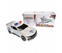 Машина-трансформер озвучено, со светом, в коробке 22128 *