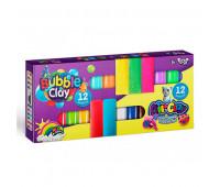 "Креативное творчество ""Air Clay+Bubble Clay"" 12 шт+12 шт укр (12) *"