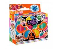 Набір тіста для ліплення ТМ Lovin''Do Асорті 4 кольори Неон (30)