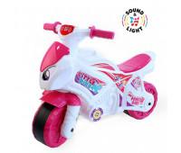 """Игрушка """"Мотоцикл ТехноК"""" белый/розовый (2)"""