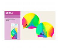Шапочка SG004 ((432шт/3)) для плавания, в пакете