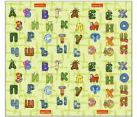 """КО101104 Коврик """"Забавный алфавит"""", размером 1800*2000*10 мм. Babypol"""