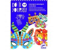 DJECO Набор масок с мозаикой Сделай сам