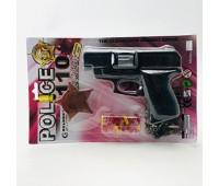 Командо игрушечный револьвер с пистонами, значок (количество в коробке 36шт.)