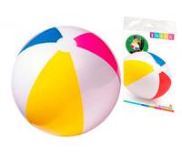 Мяч надувной INTEX в кульке 59020 р.51см *
