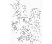 """Набор для росписи """"Папугаи"""" 25*30 см *"""