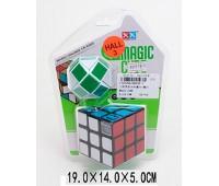 Кубик-логика 8893B-3 (1752296) (72шт/2)с таймером,3*3,плюс логика-змейка,на блистере 19*14*5см *