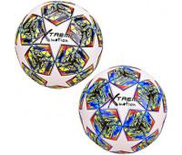 Мяч футбольный CY20986 (30шт) Extreme Motion, № 5, TPE, 420 грамм, MIX 2 цвета *