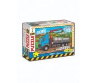 Пазлы 120, вип. 4 (ЕРТ -04) грузовик в кор. *