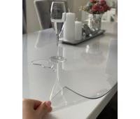 Силиконовая скатерть, мягкое стекло глянцевое, 2 мм