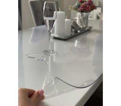 Силиконовая скатерть, мягкое стекло глянцевое, толщина 2 мм