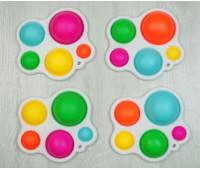 Сенсорная игрушка Pop It Поп Ит Simple Dimple Симпл Димпл Большие бульбы