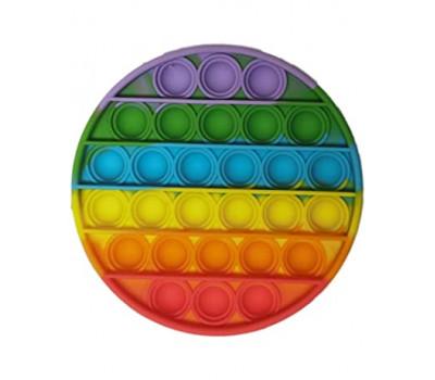 Игрушка антистресс Pop It Поп Ит Радужный Круг Push Up Bubble тыкалка для детей и взрослых