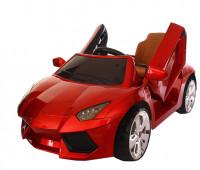 Электромобиль T-7645 EVA RED легковая на Bluetooth 2.4G Р/У 2*6V4.5AH мотор 2*20W с MP3 108*68*48/1/