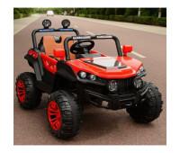Эл-мобиль T-7840 EVA RED джип на Bluetooth 2.4G Р/У 12V7AH мотор 4*25W с MP3 122*76*72/1/