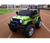 Эл-мобиль T-7843 EVA GREEN джип на Bluetooth 2.4G Р/У 12V7AH мотор 2*15W с MP3 118*69*79 /1/