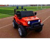 Эл-мобиль T-7843 EVA RED джип на Bluetooth 2.4G Р/У 12V7AH мотор 2*15W с MP3 118*69*79 /1/