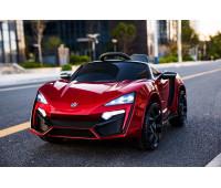 Электромобиль T-7623 EVA RED легковая на Bluetooth 2.4G Р/У 12V7AH мотор 2*35W з MP3 118*70*50 /1/