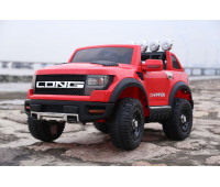 Электромобиль T-7819 EVA RED джип на Bluetooth 2.4G Р/У 12V7AH мотор 2*30W з MP3 121*76*73 /1/