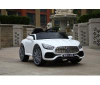Электромобиль T-7652 EVA WHITE легковой на Bluetooth 2.4G Р/У 6V7AH мотор 2*18W з MP3 102*61*55 /1/