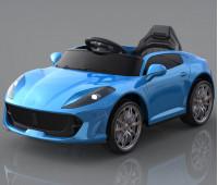Электромобиль T-7653 EVA BLUE легковой на Bluetooth 2.4G Р/У 6V7AH мотор 2*18W з MP3 102*61*55 /1/