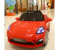 Электромобиль T-7660 EVA RED легковой на Bluetooth 2.4G Р/У 12V4.5AH мотор 2*15W з MP3 105*66*56 /1/